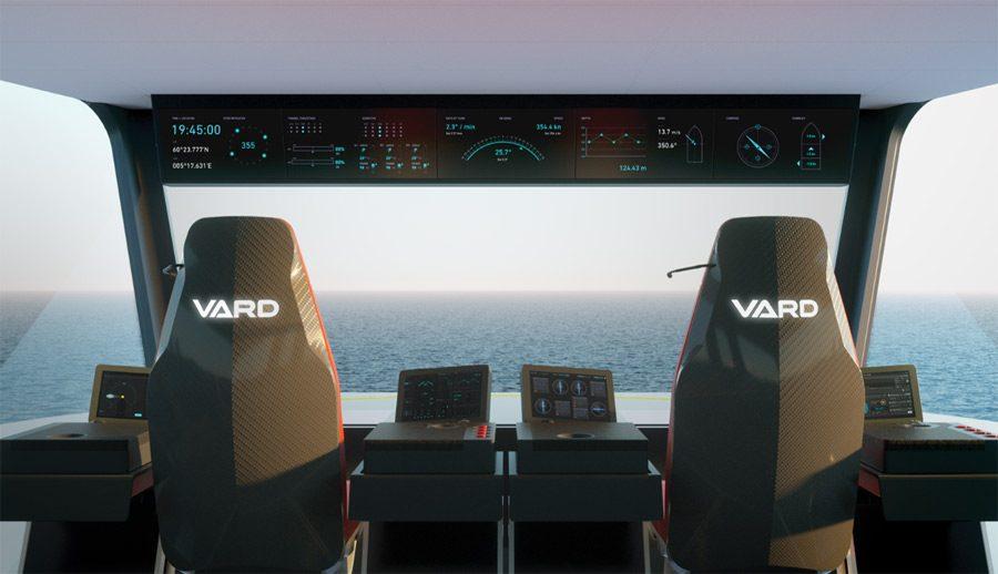VARD bridge of ship