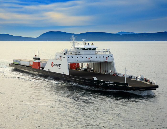 Seaspan hybrid ferry VARD 6 515 Seaspan Swift LNG bunkering case study