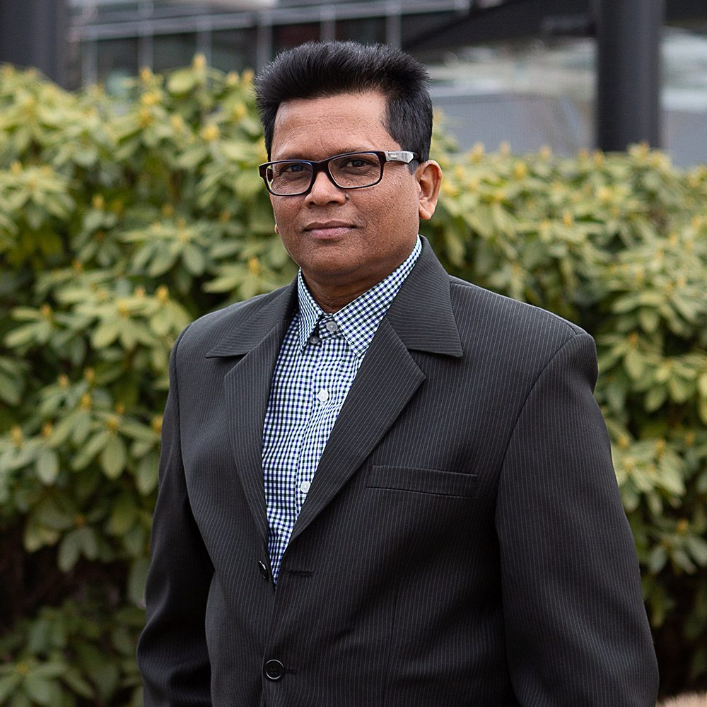 Headshot of Sanjay Babooram, Financial Controller Vard Marine