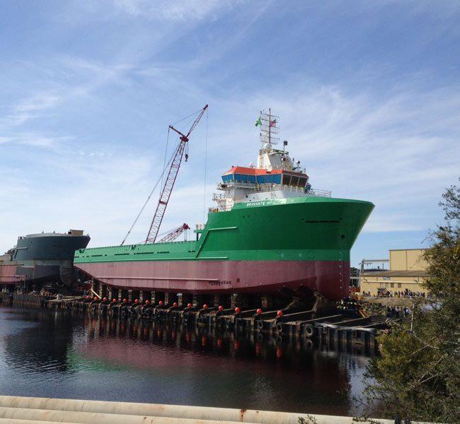 Bravante V Offshore Supply Vessel delivery ship designed by Vard Marine