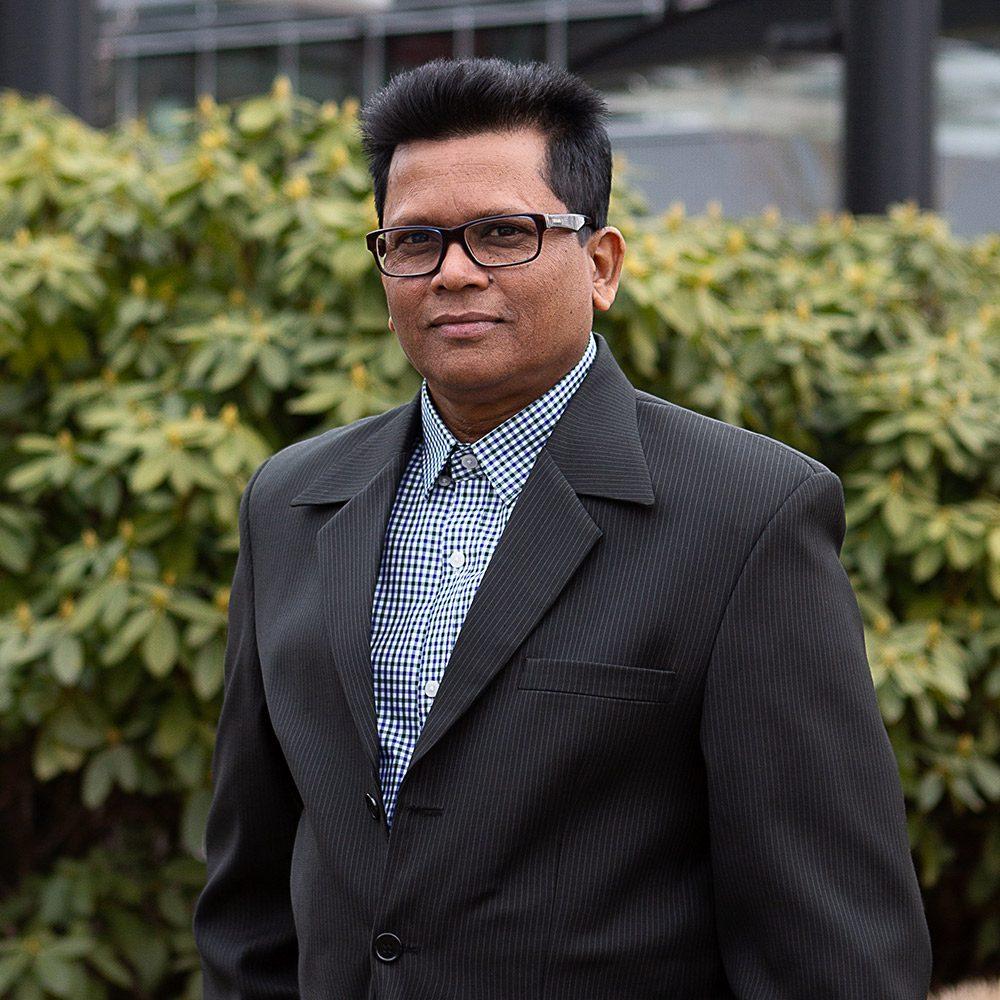 Headshot of Sanjay Babooram, Financial Controller Vard Marine