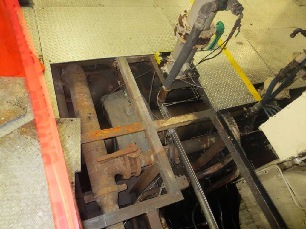 Ship refitting of the HOS Warland VARD 3 300 mechanical systems