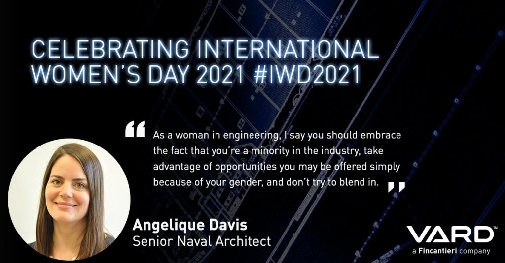 International Women's Day - Angelique Davis